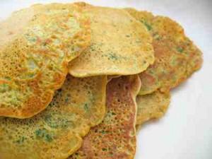 Gluten free chickpea light pancake/crepe